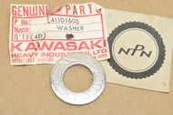 NOS Kawasaki 1976-80 KV75 1971-72, 1974-75 MT1 Steering Head Bolt Flat Washer 16mm 411D1600