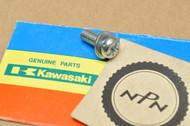 NOS Kawasaki KDX200 KDX250 KX125 KX250 KX500 KX60 KXF250 KXT250 ZX600 Ninja Pan Head Screw 235B0616