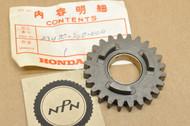 NOS Honda CR125 M Mainshaft Fifth 5th Gear 24T 23470-360-000