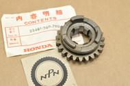 NOS Honda CR125 M Transmission Counter Shaft Fifth 5th Gear 23T 23481-360-700
