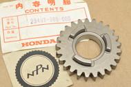 NOS Honda CR125 M Transmission Main Shaft Sixth 6th Gear 25T 23491-360-000