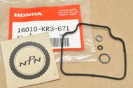 NOS Honda 1985-87 CMX250 Rebel Carburetor Gasket Kit Set 16010-KR3-671