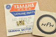 NOS Yamaha DT400 IT175 XJ550 XJ650 YA6 YD3 YDS2 YM1 YZ125 YZ175 Carburetor Air Adjusting Screw Spring 137-14134-00