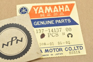 NOS Yamaha AT1 CT1 MX100 MX125 MX175 YA6 YD3 YDS2 YDT1 YM1 YZ125 Carburetor Needle Clip 137-14137-00