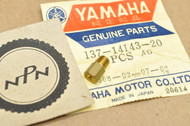 NOS Yamaha AS2 DS7 DT125 R5 RD350 RS100 YAS1 YD3 YDS2 YDT1 YL2 YLCM Carburetor Main Jet #100 137-14143-20