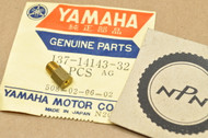 NOS Yamaha AT1 CT1 DT1 DT2 DT250 DT3 DT400 MX175 R3 RT2 TT250 YR1 YZ80 Carburetor Main Jet #160 137-14143-32
