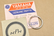 NOS Yamaha DT1 DT250 IT400 MX250 RD125 RT1 TD2 TZ350 WR250 XT500 YZ100 YZ465 Spacer Flange 146-25116-00