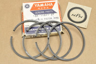NOS Yamaha R3 YR1 YR2 0.50 Oversize Piston Ring Set for 2 Pistons = 4 Rings 168-11601-20