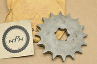 NOS Yamaha AT1 AT2 CS3 CT1 DT175 MX175 RD125 RS100 TZ125 YA6 YCS1 YZ125 Front Sprocket 16T 174-17461-60