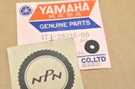 NOS Yamaha 1965-66 YM1 Side Cover Emblem Damper 174-28316-00