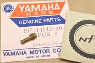 NOS Yamaha DT1 DT400 SC500 YZ125 YZ250 Carburetor Pilot Jet #80 193-14142-80
