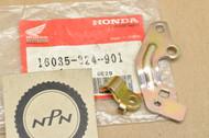 NOS Honda ATC200 Big Red NX125 TRX200 Fourtrax XL200 Carburetor Stay Plate Set 16035-324-901