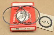 NOS Honda CR125 M 0.50 Oversize Piston Ring Set for 1 Piston = 2 Rings 13013-360-003