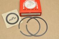 NOS Honda CR125 M Standard Size Piston Ring Set for 1 Piston = 2 Rings 13011-360-004