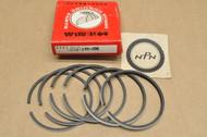 NOS Honda CA175 CL175 0.25 Oversize Piston Ring Set for 2 Pistons = 6 Rings 13022-235-000