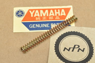 NOS Yamaha RD400 VMX12 XS400 XJ700 XV1100 XV250 XV535 XV750 Head Light Screw Spring 1A0-84332-60