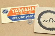 NOS Yamaha SR250 VMX12 V-Max XJ1100 XJ550 XS1100 XS500 XS650 XS750 XVZ13 Carburetor Filter 1J7-14994-00