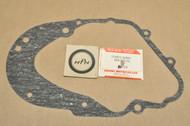 NOS Suzuki 1968 50M12 50M15 Crank Case Clutch Cover Gasket 11482-01003