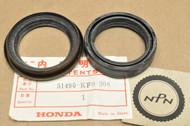 NOS Honda 1988-89 NX650 1989-90 XL600 1983 XR350 R Front Fork Seal Set 51490-KF0-305