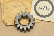 NOS Yamaha 1980-81 IT125 1977-79 IT175 Second 2nd Pinion Gear 15T 1W2-17121-00