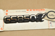 NOS Suzuki 1980-83 GS850 GL Side Cover Emblem 68131-45310