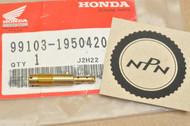 NOS Honda 1983-1985 XL80 S Carburetor Slow Jet #42 99103-195-0420
