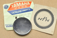 NOS Yamaha DT1 DT250 DT3 DT400 IT400 MX360 MX400 RT1 SC500 TY250 YZ250 YZ400 Cam Shaft Plug Cap 214-18533-00