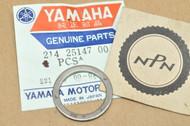 NOS Yamaha DT1 DT250 DT400 IT175 RD200 RD250 RT1 SR250 TT500 TW200 XS400 XT500 Axle Washer 214-25147-00