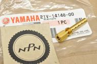 NOS Yamaha YFB250 YFM200 YFM225 YFM250 Moto 4 YFU1 Carburetor Jet Holder 21V-14148-00