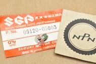 NOS Suzuki LT250 LT500 RM125 RM250 RM80 Screw 09120-05003