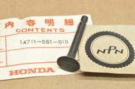 NOS Honda QA50 K0-K3 Intake Valve 14711-081-010