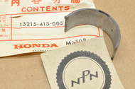 NOS Honda CB1000 CB400 CB450 CB750 CB900 CBX CM400 CM450 CMX450 Connecting Rod Bearing B (Black) 13215-413-005