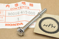 NOS Honda CX500 GL1000 GL1100 Gold Wing GL500 XL75 XR75 XR80 Cylinder Head Cover Bolt 90016-415-000