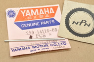 NOS Yamaha MX250 MX360 RT2 YZ360 Carburetor Needle Jet 6F5 239-14116-05