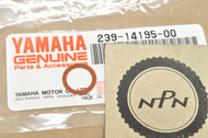 NOS Yamaha DT250 DT400 IT250 MX250 MX400 RT2 TD2 TZ250 TZ350 XS1100 XS400 Needle Valve Washer 239-14195-00