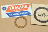 NOS Yamaha IT200 IT250 IT490 YZ125 YZ250 YZ490 Front Fork Valve Gasket 23X-23158-L0