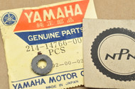 NOS Yamaha AT1 CT1 DT250 DT3 DT400 GT1 GT80 JT1 L5T MX100 MX80 RT1 TY80 XS750 YAS1 YCS1 Washer Plate 214-14766-00