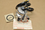 NOS Honda 1977-79 NC50 1979-80 PA50I PA50II Handlebar Light Hi Lo On Off Horn Switch Assembly 35300-147-671