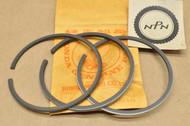 NOS Honda CB360 CB360G CB360T CJ360 T CL360 Standard Size Piston Ring Set for 1 Piston= 3 Rings 13011-369-305