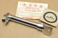 NOS Honda 1980 CB125 S CT70 Trail 70 XL80 S Front Turn Signal Stay Stem 33441-126-770