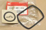 NOS Honda CB1000 CB650 CMX250 CMX450 CX650 VF1100 VF700 VT1100 VT500 Turn Signal Lens Gasket 33407-MB1-003