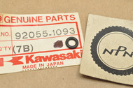 NOS Kawasaki KL250 KLR250 ZX600 Ninja Carburetor Drain Plug O-Ring 92055-1093