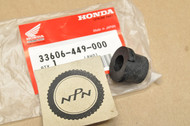 NOS Honda 1980-81 CB400 T 1982 CB450 T 1979-82 CX500 Rear Turn Signal Mount Rubber 33606-449-000