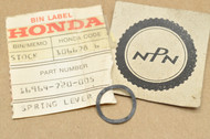 NOS Honda CB175 CL70 MR175 MR50 MT250 QA50 SL70 TL250 XL250 XL70 XR75 Z50 Petcock Lever Spring 16964-720-005