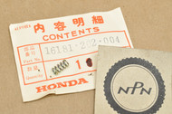 NOS Honda CA72 CA77 CB100 CB77 CL100 CL70 CL72 CT70 S65 S90 SL90 SS125 Carburetor Air Screw Spring 16181-202-004