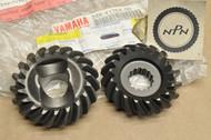 NOS Yamaha YTM200 YTM225 Tri-Moto Middle Drive Gear Set 24W-Y1754-00