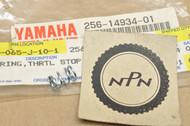 NOS Yamaha TX650 TX750 XS1 XS1100 XS2 XS400 XS500 XS650 XS750 Carburetor Throttle Stop Spring 256-14934-01