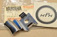 NOS Yamaha 1983, 85 XC180 Riva Leg Shield Stay Bracket 25G-28321-00