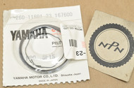 NOS Yamaha LC50 MJ50 PW50 Y-Zinger QT50 Yamahopper 0.50 Oversize Piston Ring Set for 1 Piston = 3 Rings 260-11601-23