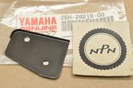 NOS Yamaha 1983-84 XVZ12 1987-88 XVZ13 Cowling Fairing Box Lock Plate #1 26H-28216-00